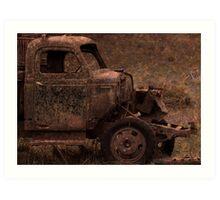 Rust and Rain Art Print