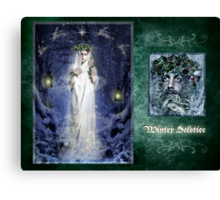 Yule/Winter Solstice - December Canvas Print