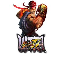 ultra street fighter evil ryu Photographic Print