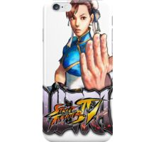 ultra street fighter chun li iPhone Case/Skin
