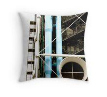 Centre National d'Art et de Culture Georges Pompidou Throw Pillow