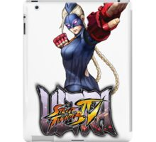 ultra street fighter decapre iPad Case/Skin