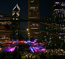 4th of July in Chicago by Pahl