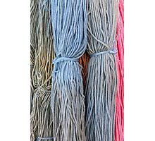 hank wool Photographic Print