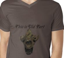 This is old Fart Mens V-Neck T-Shirt