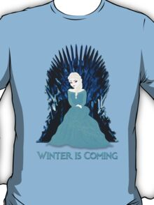 Game of Thrones: Elsa is Coming (Frozen) T-Shirt