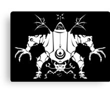 Killbot 04 - Psiclops and CRABS  Canvas Print