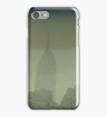 ESB Dry Plate Tintype Photograph iPhone Case/Skin
