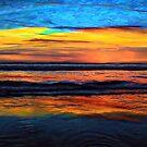 A Beach Sunset Is My Aurora by David Rozansky