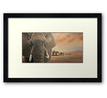 Natures Giants Framed Print