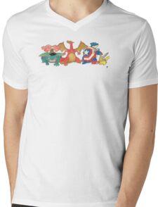 Pokevengers Mens V-Neck T-Shirt