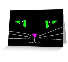 Halloween kitty Greeting Card