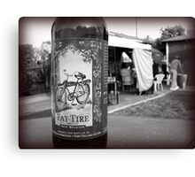 Fat Tire Canvas Print