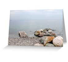 river lake Greeting Card