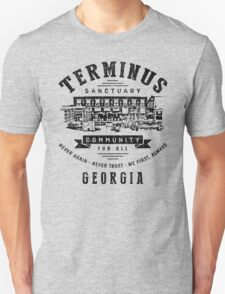 Terminus Sanctuary Community (dark) T-Shirt