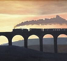 Ribblehead Viaduct by Olive Denyer