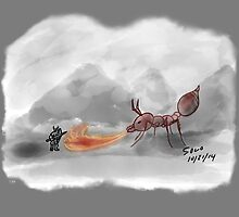 Fire Ant by Rudy  Solorzano