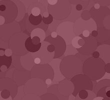 Crushed Berry Bubble Dot Color Accent by SaraValor