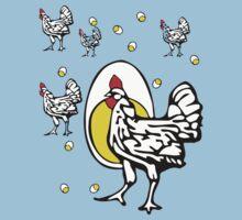 Roseanne Chicken Kids Clothes