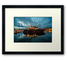 Now thats what I call a Gin Palace .!  Framed Print
