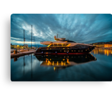Now thats what I call a Gin Palace .!  Canvas Print