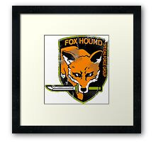 Fox Hound Special Force Group Framed Print
