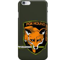 Fox Hound Special Force Group iPhone Case/Skin