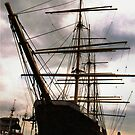 """The Peking"" at South Street Seaport - New York City by Laurie Puglia"