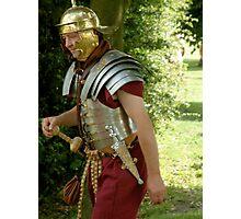 Roman Soldier, re-enactment day Photographic Print