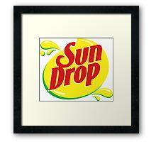 Sundrop -  Sun drop Framed Print