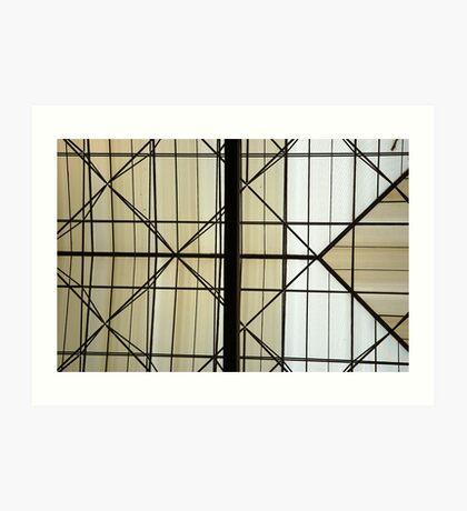 glass roof Art Print