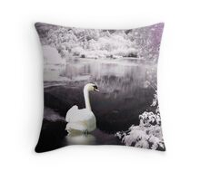 Looking Back From Heaven Throw Pillow