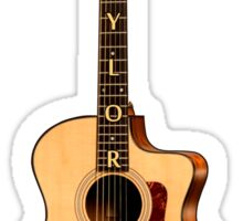 Taylor Guitar Sticker