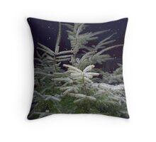 A BIG CHRISTMAS TREE Throw Pillow