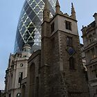 Gherkin and Church by Iain McGillivray