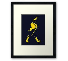 Johnny 'Walker' Bravo Framed Print