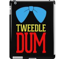 Tweedle dee and tweedle dum. iPad Case/Skin