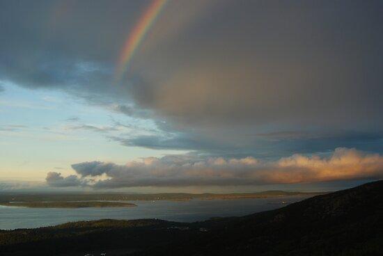 Acadia Rainbow by Stephen Vecchiotti