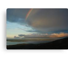 Acadia Rainbow Canvas Print