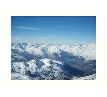 Highest Point Art Print