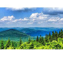 Just Breathe Deeply - Impressions of Mountains Photographic Print