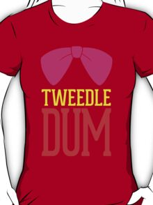 Tweedle Dee Tweedle Dum Costume T-Shirt