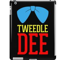 FUnny Tweedle Dee - Tweedle Dum for couples iPad Case/Skin