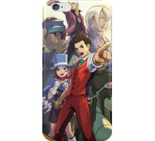Apollo Justice poster Ace Attorney iPhone Case/Skin