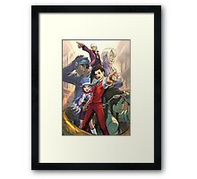Apollo Justice poster Ace Attorney Framed Print