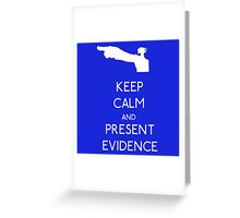 Keep Calm Phoenix Wright T-Shirt Ace Attorney Greeting Card