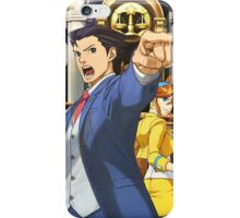 Phoenix Wright poster iPhone Case/Skin