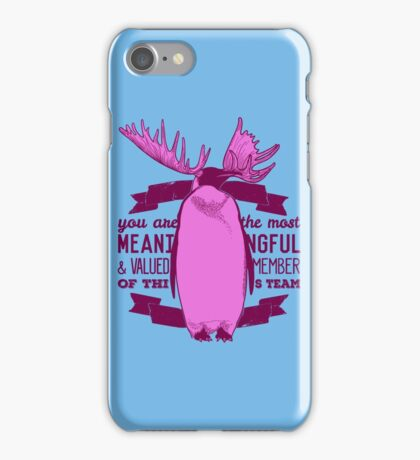 Meaningful Team Member iPhone Case/Skin