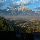 Snake River Overlook by Dennis Jones - CameraView