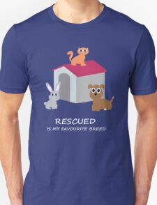 Cats and Dogs Rescue T-Shirt